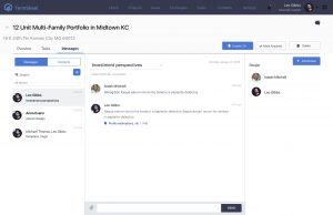 Termsheet deal page web design - designoholic