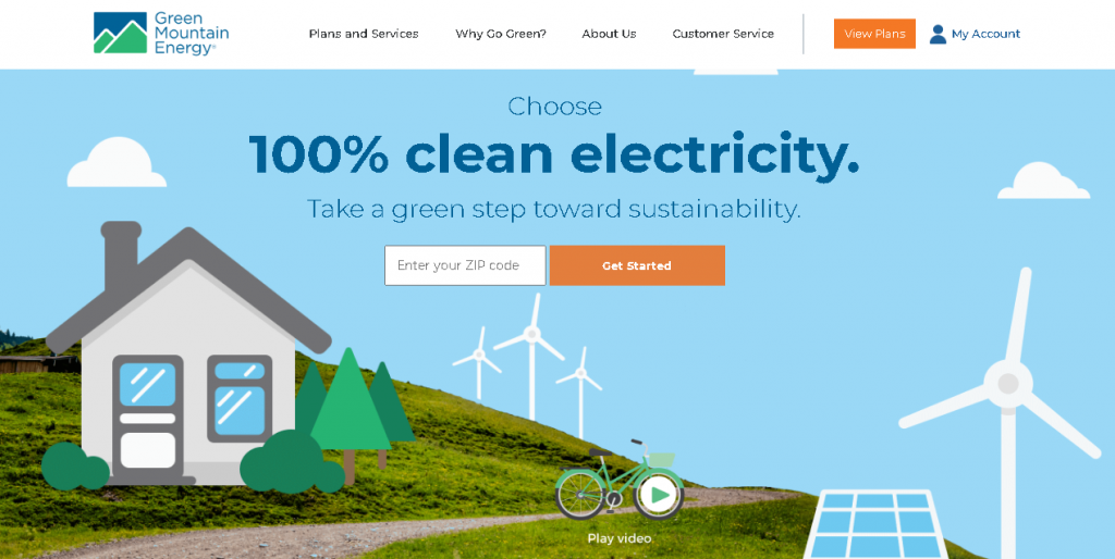 website design services in Essex | UX/UI consideration | website design | Green Mountain Energy