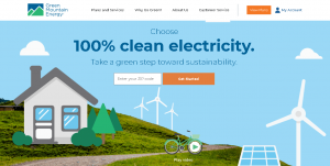 website design services in Essex | UX/UI consideration | website design | Green Mountain Energy