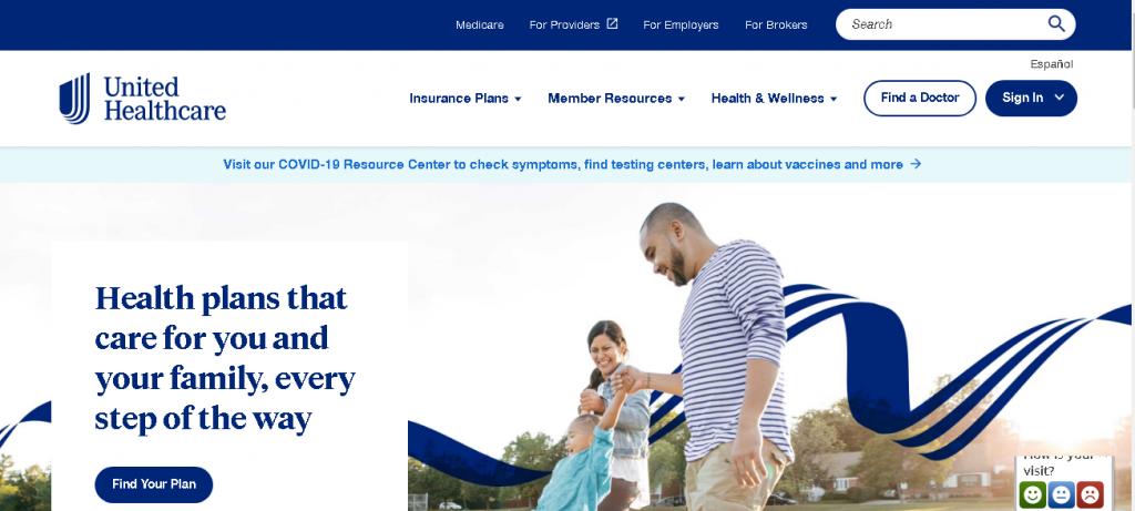 UnitedHealthcare-website-design