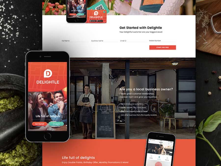 html website design
